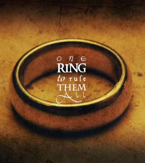 ring, lord of the rings, tolkien
