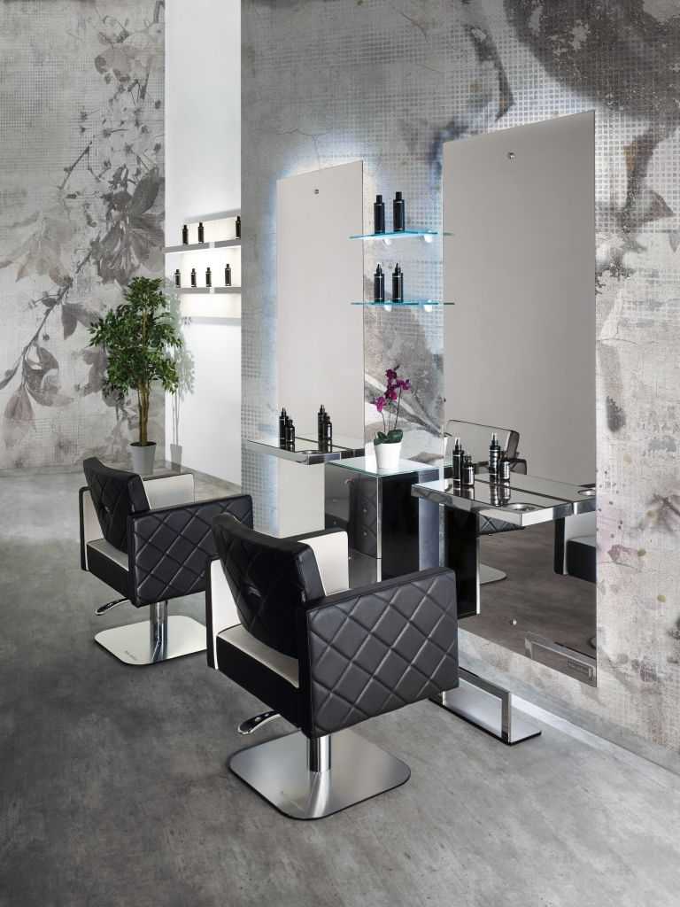 Space Line - Salon Ambience - Hairdressing Furniture - Made In Italy ...