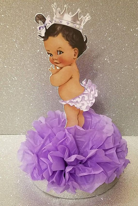 Royal Little Princess Lavender And Silver Or Gold Baby