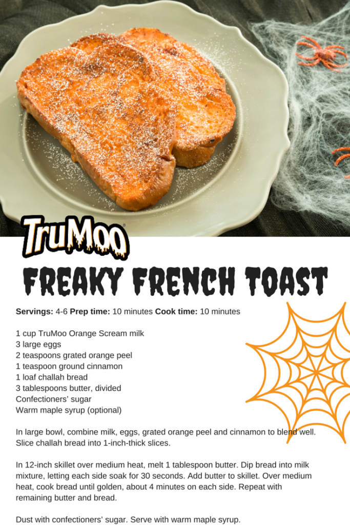 Halloween Fun With TruMoo Orange Scream @TruMooMilk #ad | Lady and the Blog