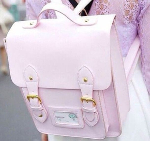 Kawaii Harajuku Embroidery Backpack Japanese Girl Lovely School Bag Q