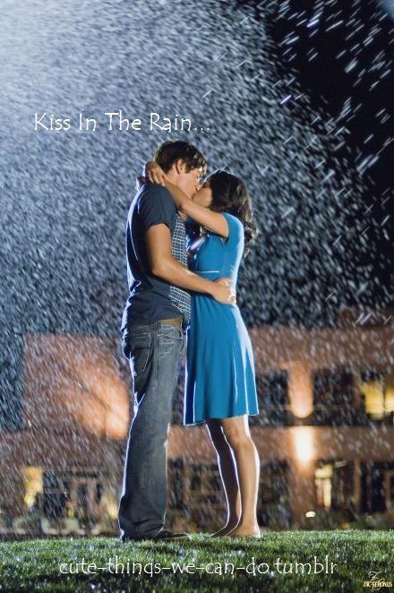 Kiss In The Rain High School Musical 3 High School Musical 2