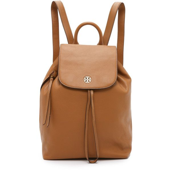 3b7edbb3aca Tory Burch Brody Backpack ( 495) ❤ liked on Polyvore featuring bags ...