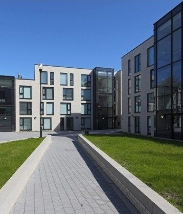 The Gateway Apartments Student Accommodation In Edinburgh Has Set A New Standard For Student Living Assisted Student Living Architecture Building Architecture