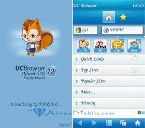 Uc browser 8 9 lướt wap/web tốc đọ tăng 50% so với Uc browser phiên