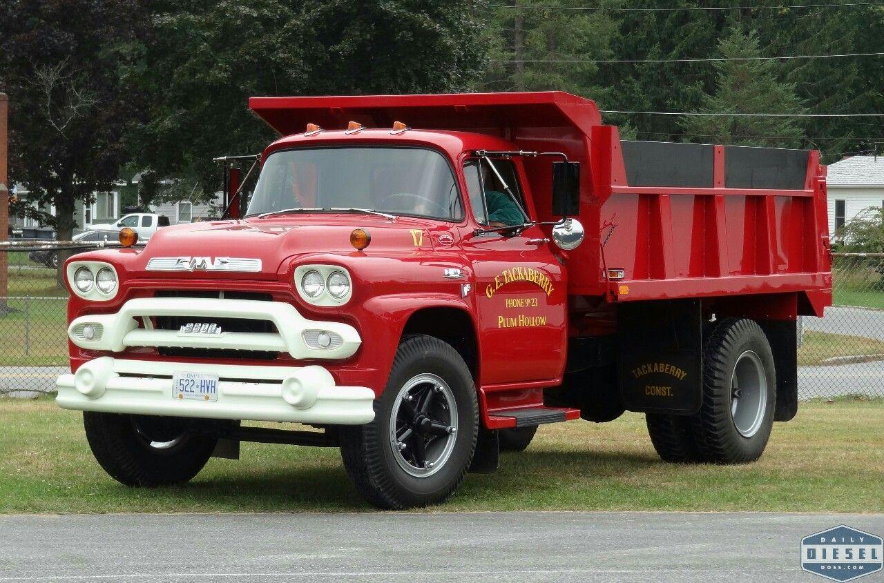 Plum Hollow S 1959 Gmc 9800 Classic Dump Dump Trucks Trucks