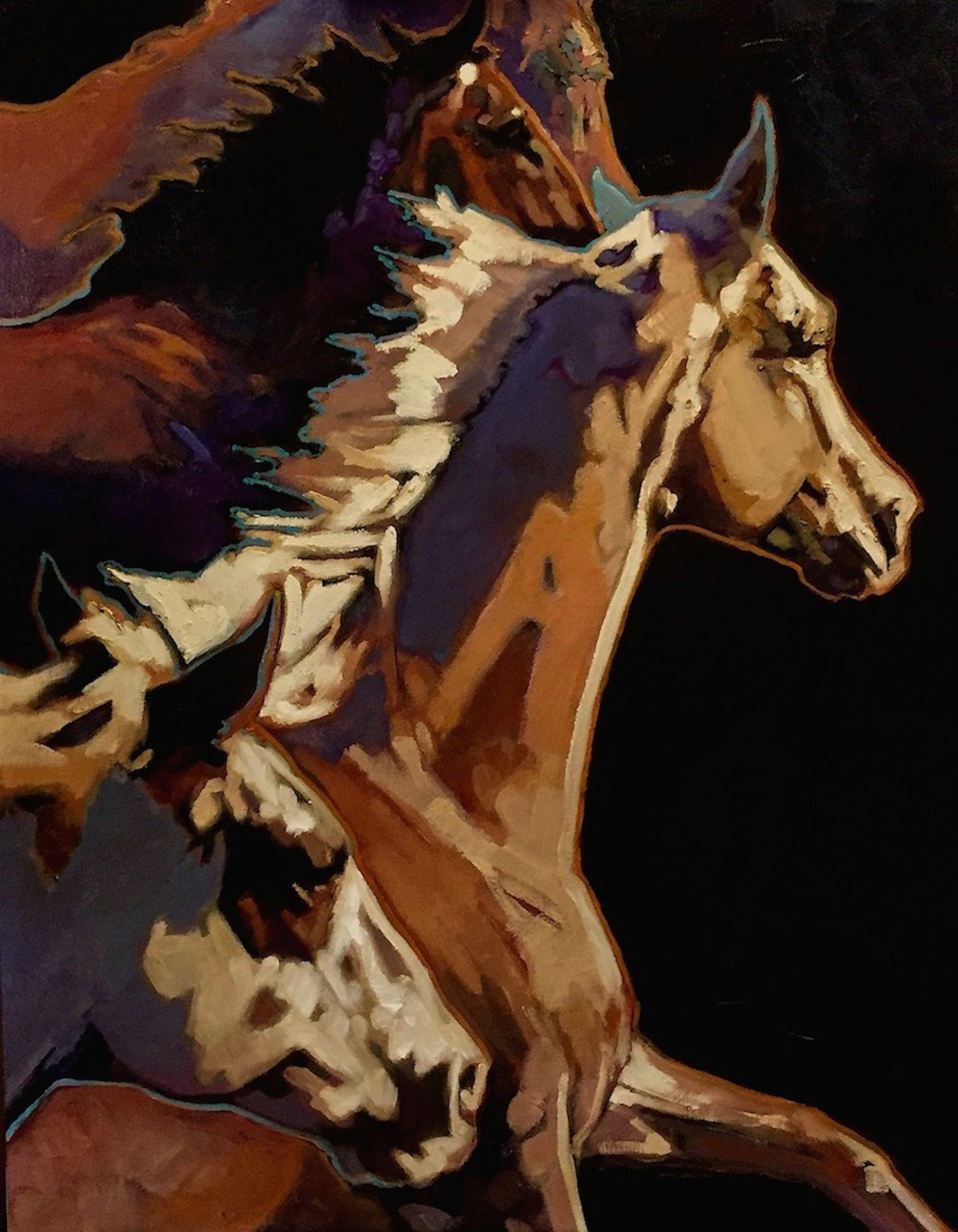 Rabid Horse Artwork Home Facebook - HD2000×2570