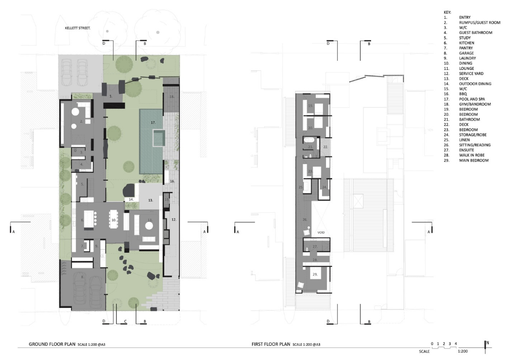 Gallery Of Cornerstone House Splinter Society 21 Architecture House House Floor Plans