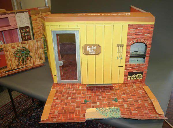 864: Vintage New Barbie Dreamhouse, 1964 On