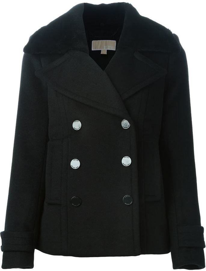 $355, MICHAEL Michael Kors Michl Michl Kors Classic Peacoat. Sold by farfetch.com. Click for more info: https://lookastic.com/women/shop_items/359413/redirect