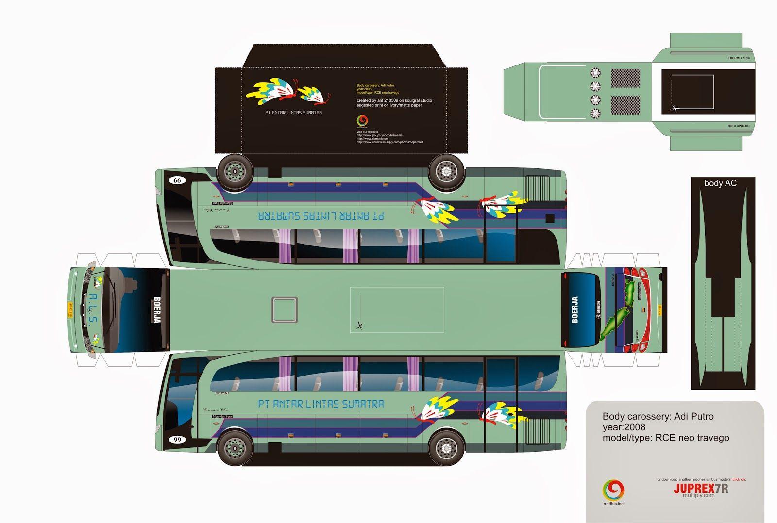Hasil Gambar Untuk Papercraft Mobil Avanza Paper Model