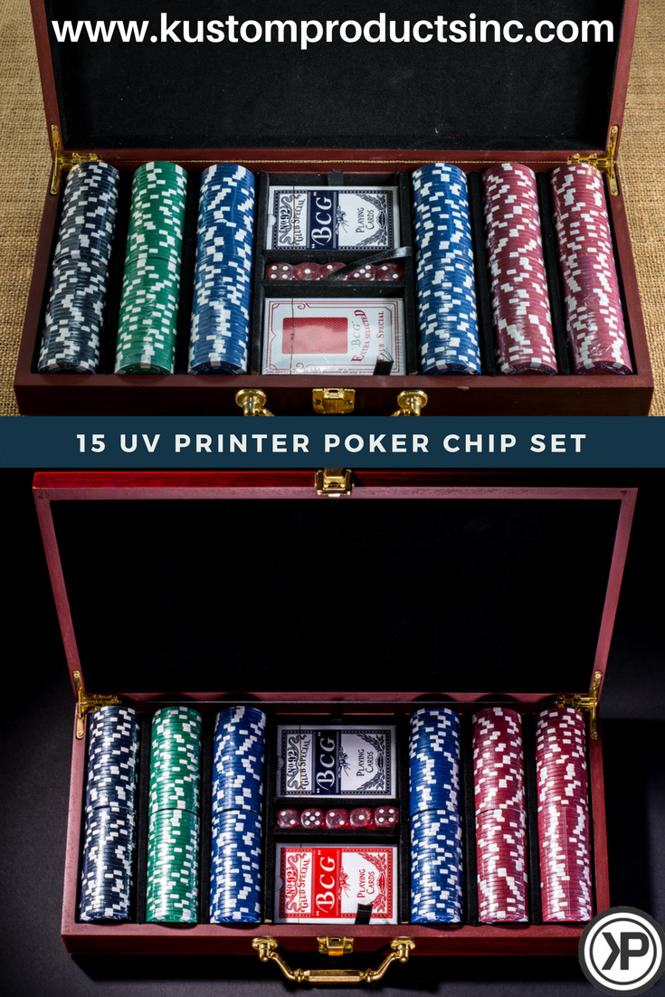 Personalized Poker Set A Beautiful Piece For A Gift Give This One