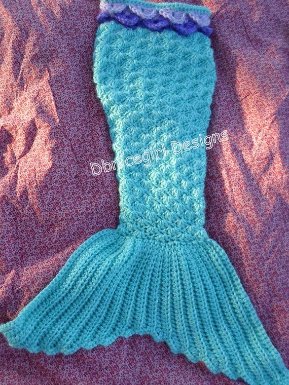 Mermaid Costume 4 Piece Set Crochet Pattern Products Crochet