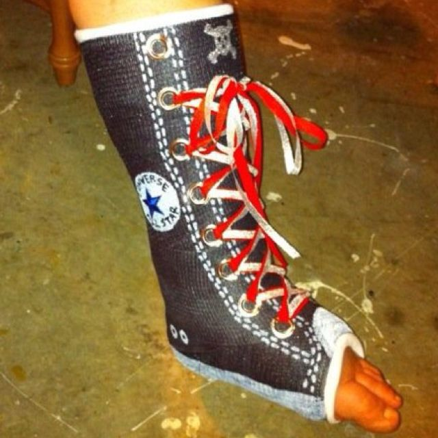 Seeing as I'm having surgery again and getting a new cast, I want to