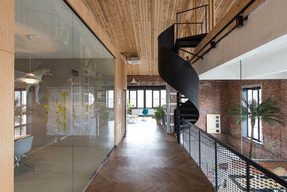 Garage headquarters stair 樓梯 architecture garage