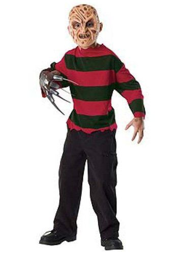 Halloween Costumes For Kids Scary.Freddy Krueger Costume For Kids Scary Halloween Costumes