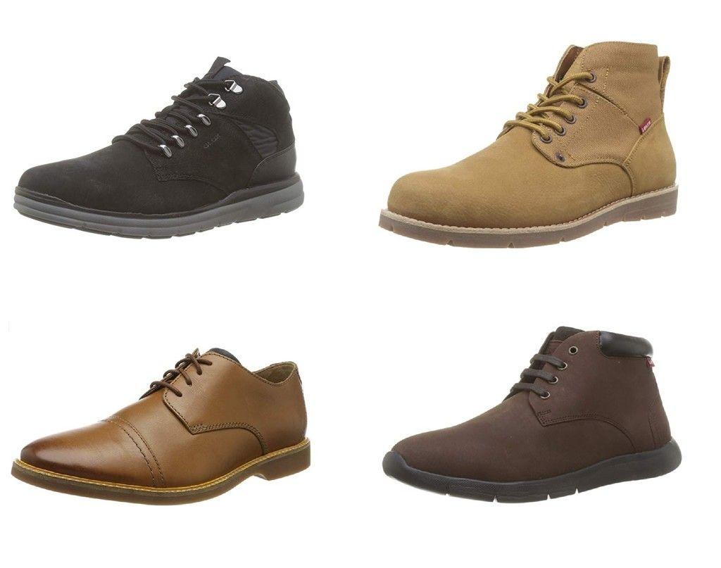 Fácil de comprender Influencia clon  Chollos en tallas sueltas de zapatos y botas para hombre de marcas como  Geox Levi's o Clarks disponibles en Amazon en 2020 | Botas hombre, Clarks,  Zapatos
