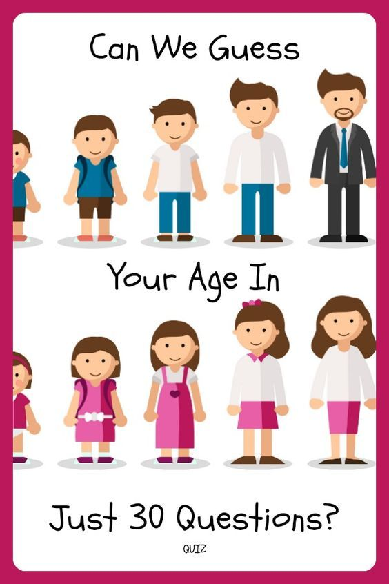 Can We Guess Your Age in Just 30 Questions? Pinterest - resume quiz