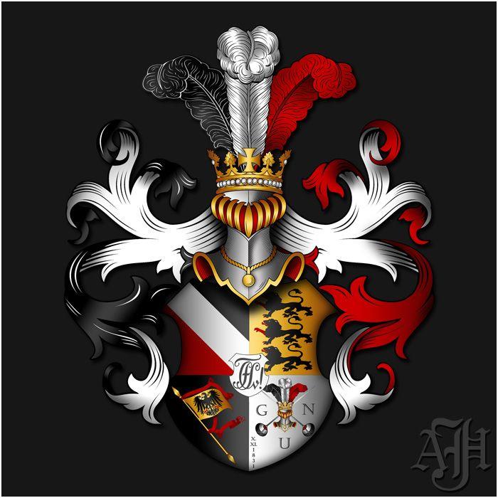 Galerie   Familienwappen erstellen – Wappenkunst   Wappen ...