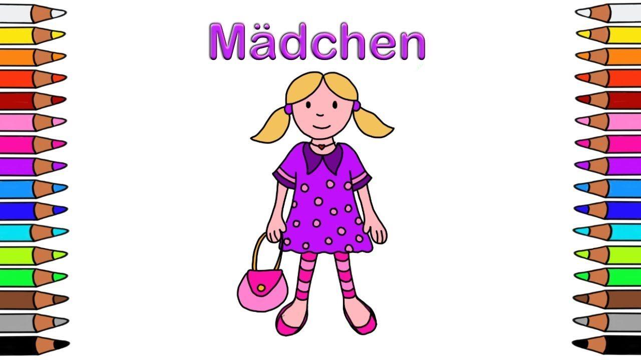 Ausmalbilder Kinder Mädchen : Malbuch F R Kinder F R Kinder Ausmalbilder F R Kinder