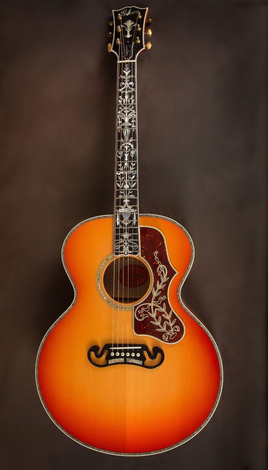 gibson j 185 custom vine acoustic guitar j 200 sj 200 gaga for gibsons acoustic guitar. Black Bedroom Furniture Sets. Home Design Ideas