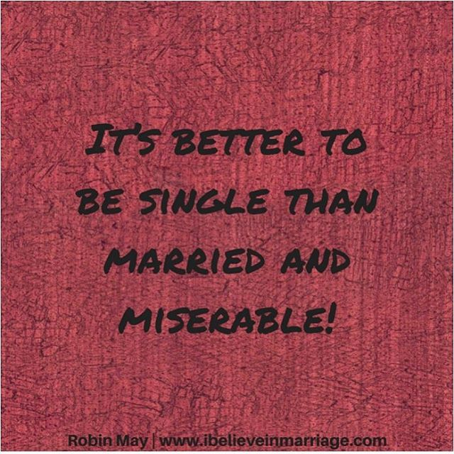 If you are married and miserable i am not suggesting that you if you are married and miserable i am not suggesting that you figure out how to be singlei am saying lets work on it so you can experience gods plan ccuart Gallery