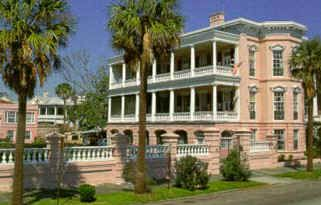 Charleston South Carolina Palmer Home View Sc Inns Southern Mansions Palmer House Bed And Breakfast