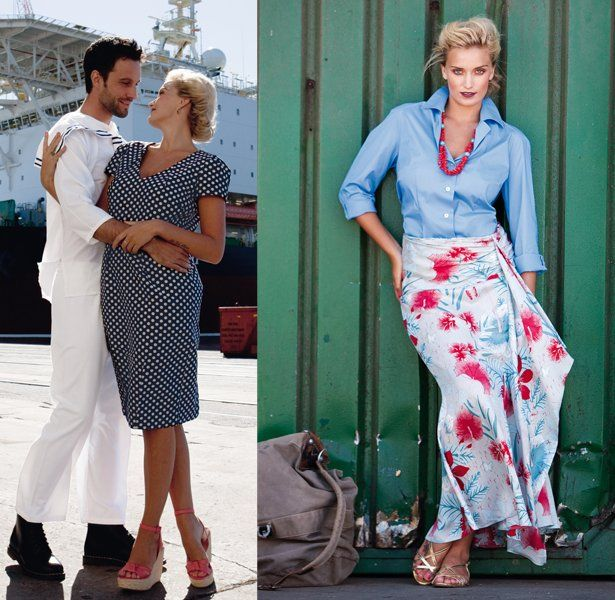 Sail Away: 6 New Plus Size Sewing Patterns | Faden, Nadel und Rock
