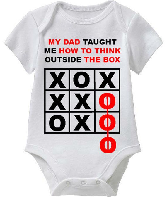 My DAD Taught Me How To Think Outside The by FunnyBabyTees on Etsy