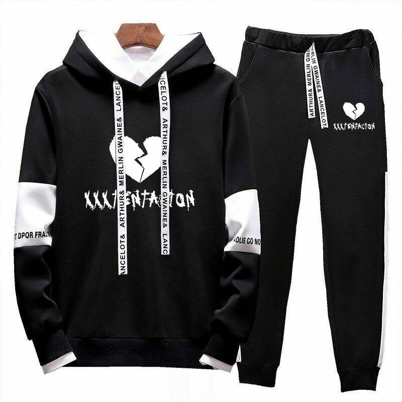 XXXtentacion New Men/'s Black Hoodie
