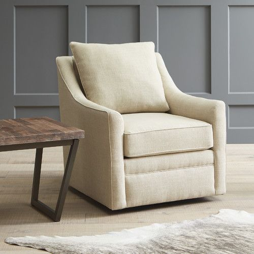 Designer Swivel Chairs For Living Room Found It At Allmodern  Quincy Swivel Chair  Living Room