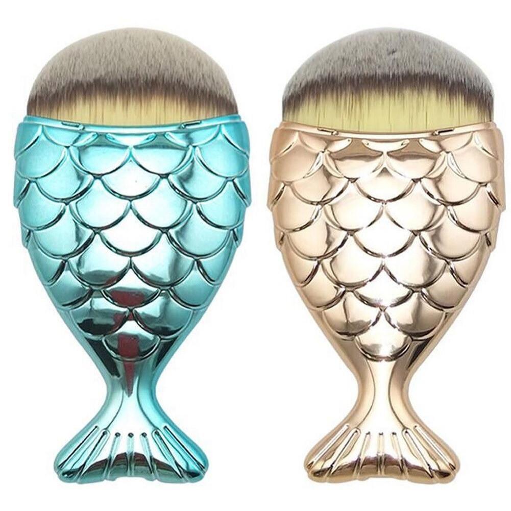 Mermaid Make Up Brush – Mattschwarz