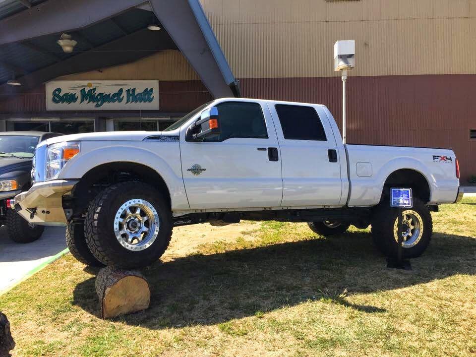 F250 Powerstroke on Method beadlock wheels Ford trucks
