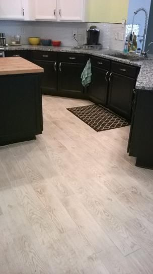 MARAZZI Montagna White Wash 6 in x 24 in Glazed Porcelain Floor and