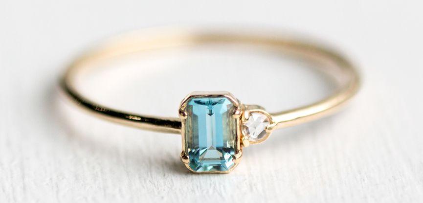 eeb4bd43c7a 19 ideias de anéis de noivado minimalistas