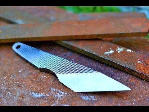 Knife Making Making A Simple Japanese Kiridashi From An Old File Youtube Knife Knife Making Diy Knife