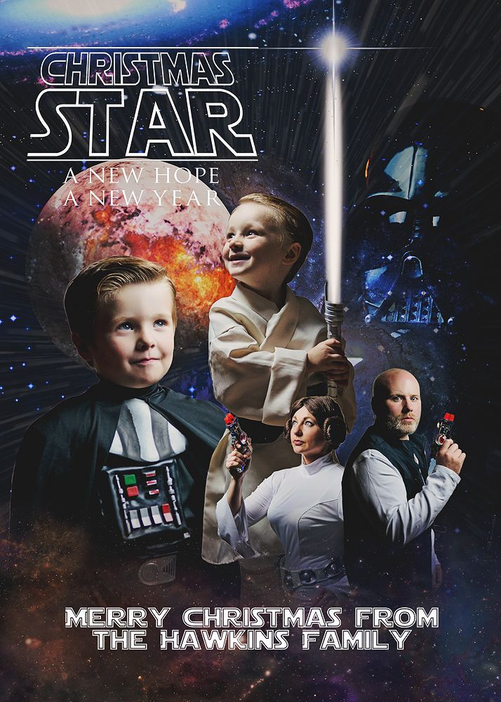 Star Wars Family Christmas Card | Sundance Photography | Pinterest ...
