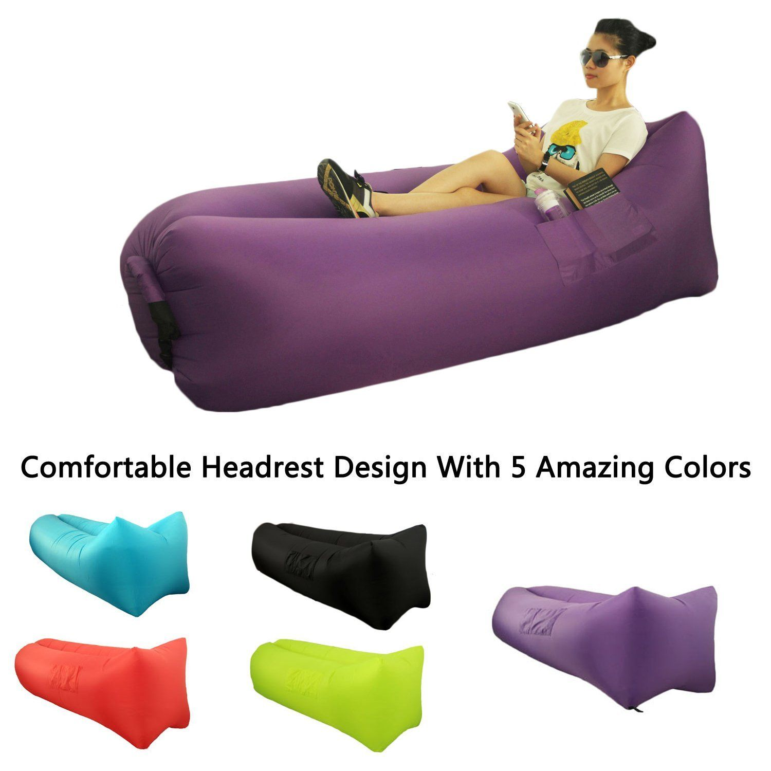Inflatable Sofa Camping Inflatable Couch Camping Chairs Uk ...