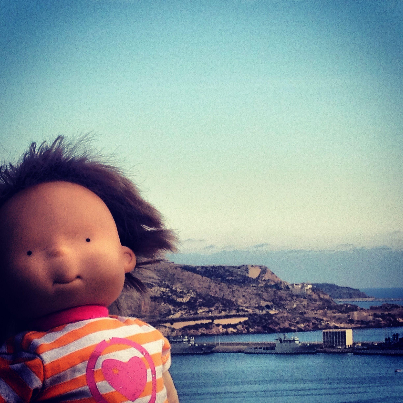 #Elena siempre nos acompaña en nuestros #viajes #Cartagena