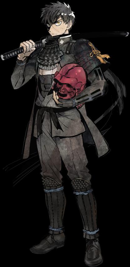 Doutanuki Masakuni Touken ranbu characters, Touken ranbu