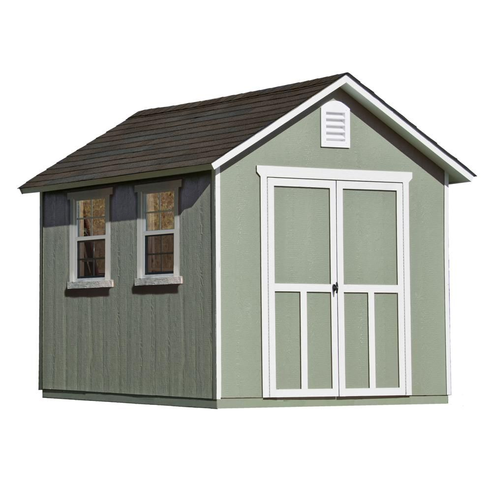 Diy Sheds For Sale: Handy Home Products Installed Meridian Deluxe 8 Ft. X 12