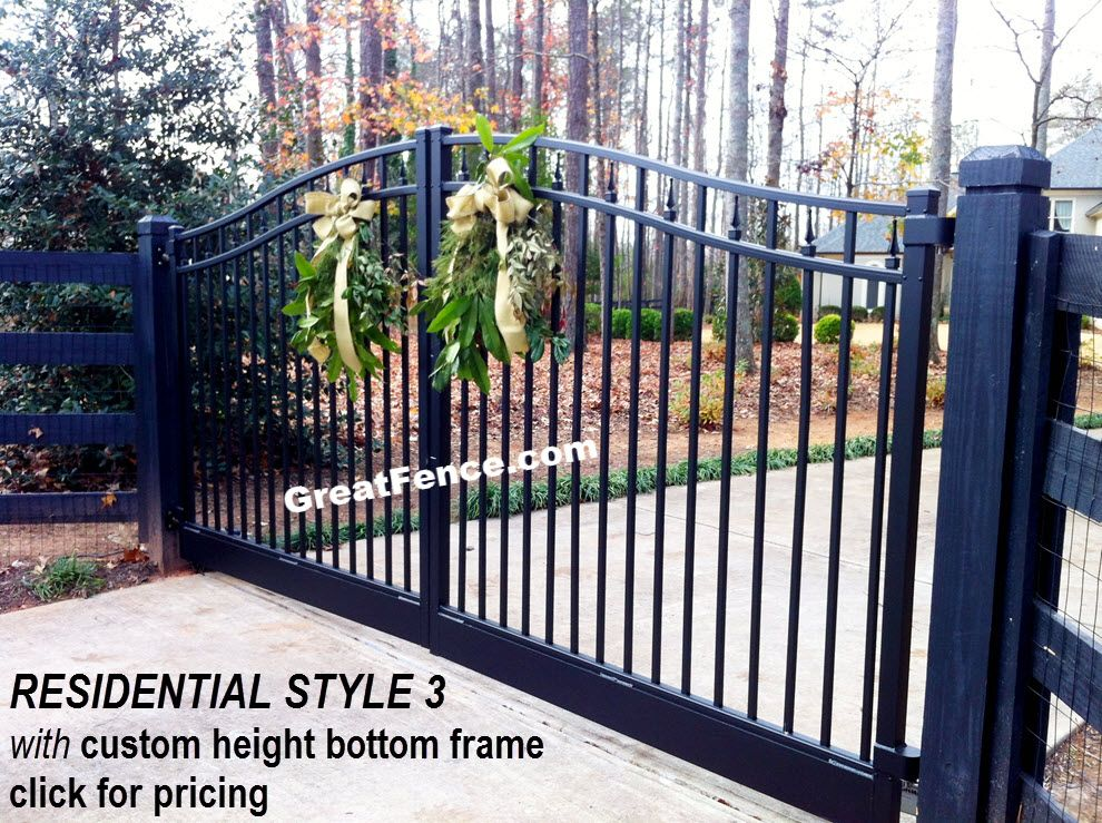 Residential Estate Gate Style 3