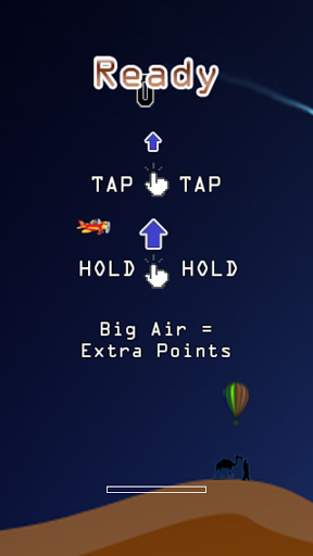 Big Air - Airplane Challange - Earn points by avoiding challenges in your path while you preform big air dives.  <p>Fun and fast paced game.  http://Mobogenie.com