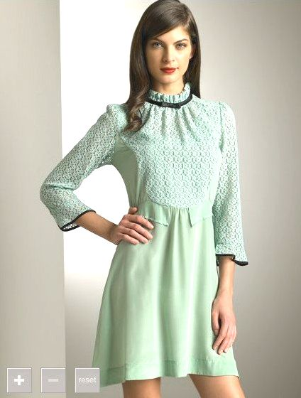 Green with envy! Chloe dress  97732bb6d