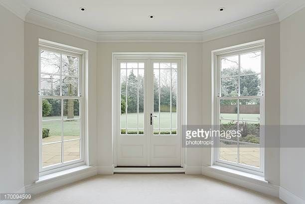 Lovely Idea To Convert A Bay Window French Door And