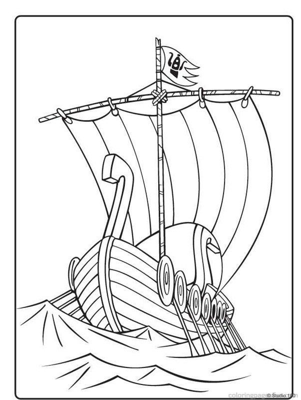 Wicky the Viking Coloring Pages 39   Viking   Pinterest   Vikings