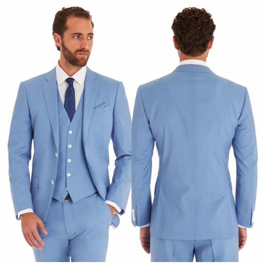 New Arrivals men suit Custom Made wedding Groom Tuxedos Best Man ...