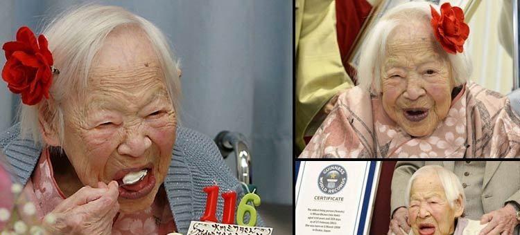 Mulher mais velha do mundo completa 116 anos