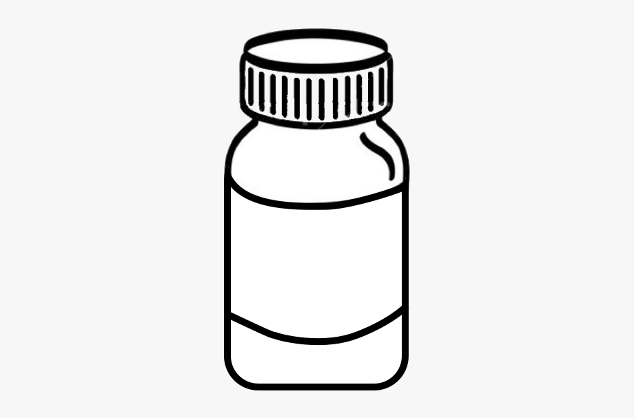 Download And Share Pill Clipart Vitamin Bottle Medicine Bottle Clipart Black And White Cartoon Seach More S Medicine Bottles Clipart Black And White Bottle
