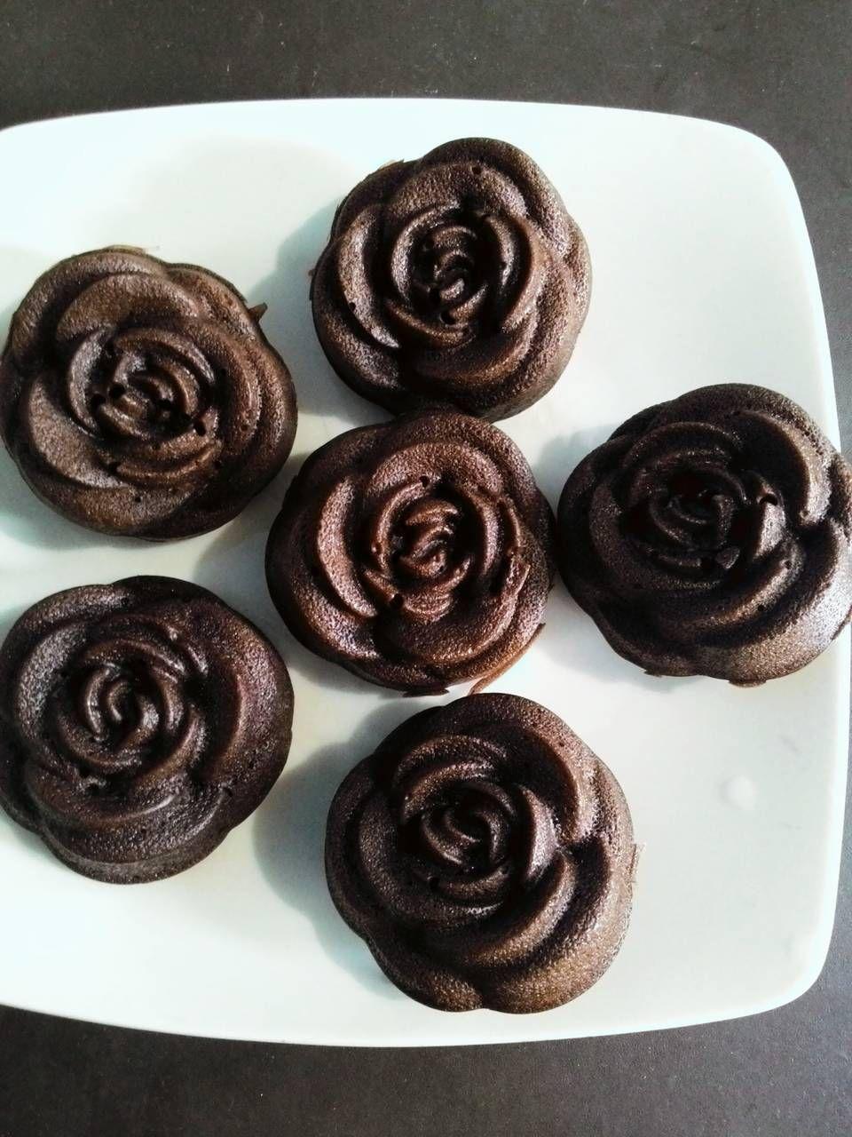 Resep Brownies Kukus Mawar Oleh Amie Resep Makanan Penutup Coklat Cake Mini Makanan